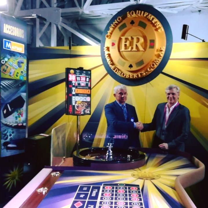 CTC HOLDINGS AR winning number display at SAGSE 2018 Gaming Expo