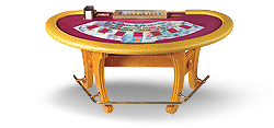 Casino card table