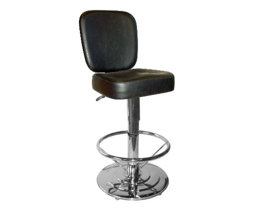 Slot machine chair with adjustable height